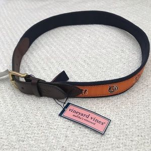 NWT Vineyard Vines Cincinnati Bengals Belt Sz 32